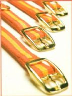 Dog collars - in Spanish colours